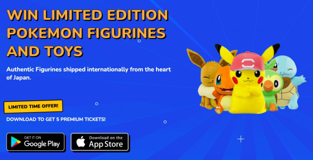 Pikachu Claw Machine